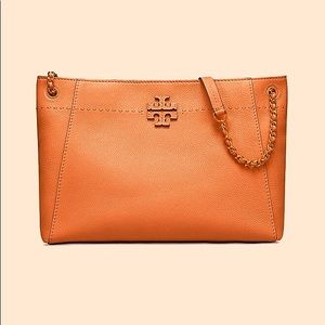Tory Burch McGraw chain tote